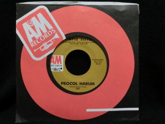 英国プログレッシブ・ロック★PROCOL HARUM-『SIMPLE SISTER』 - MODERN RECORDS 3号店