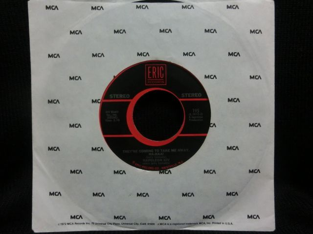 biz markieネタ クボタタケシ選出盤 napoleon xiv they re coming to