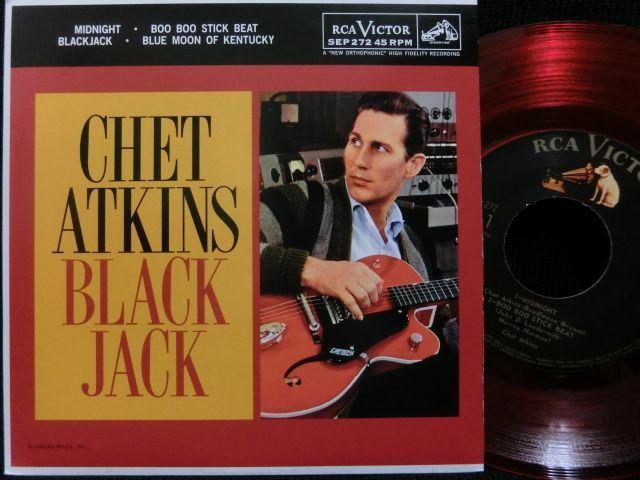 チェット・アトキンス限定盤★chet Atkins 『black Jack』 Modern Records 3号店